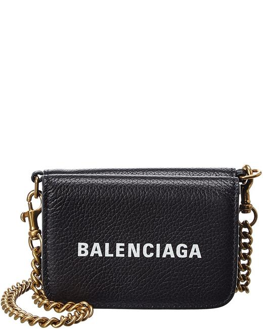 Item - Wallet on Chain Cash Mini Leather 618145 1izim 1090 Accessory