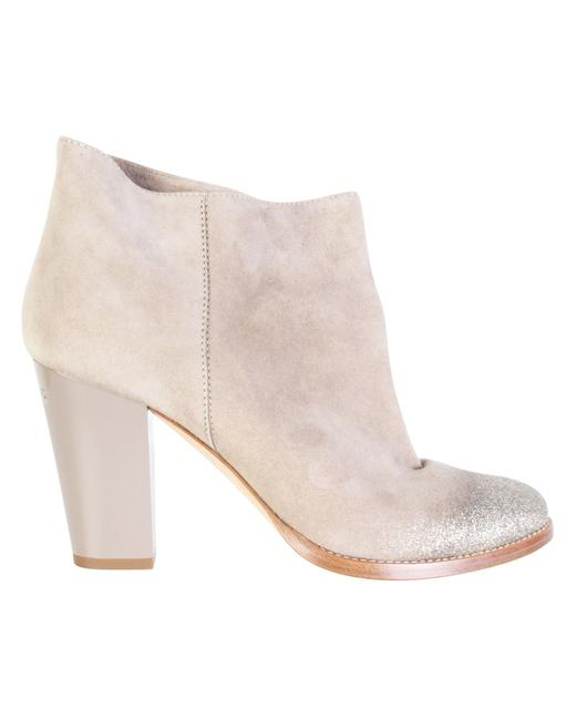 Item - Beige Marley Ankle Boots/Booties