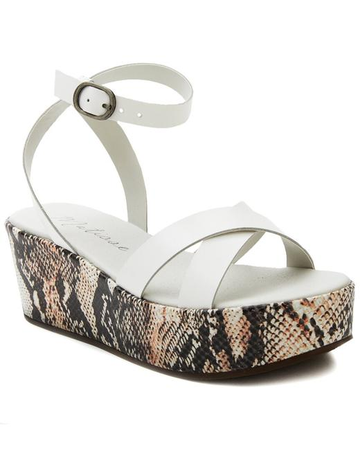 Item - Leather & Haircalf Sure Thing Sandals