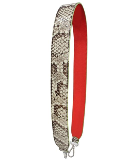 Item - Python Red and Green Shoulder Strap Jewelry