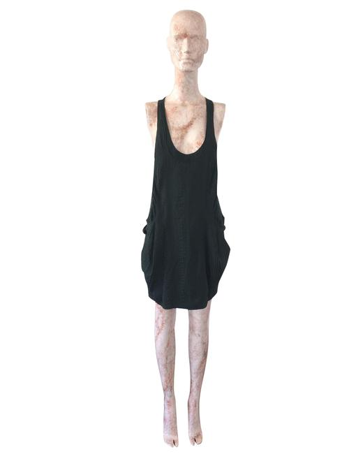 Item - Black Silk -pre Owned Condition Good Fr36 Short Casual Dress