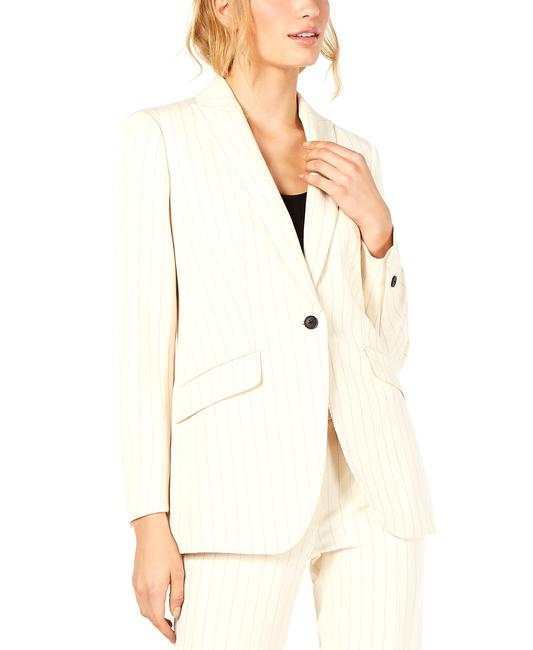 Item - One-button Striped Jacket