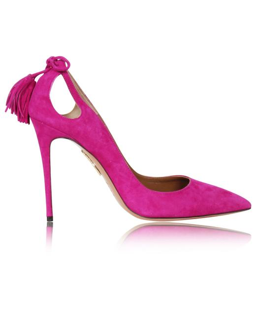 Item - Marilyn Forever Orchid Suede Pumps Formal