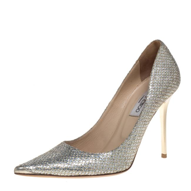 Item - Metallic Glitter Abel Pointed Size 40 Pumps