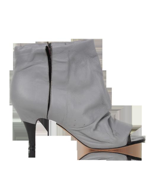 Item - Grey Open -pre Owned Condition Gently Boots/Booties