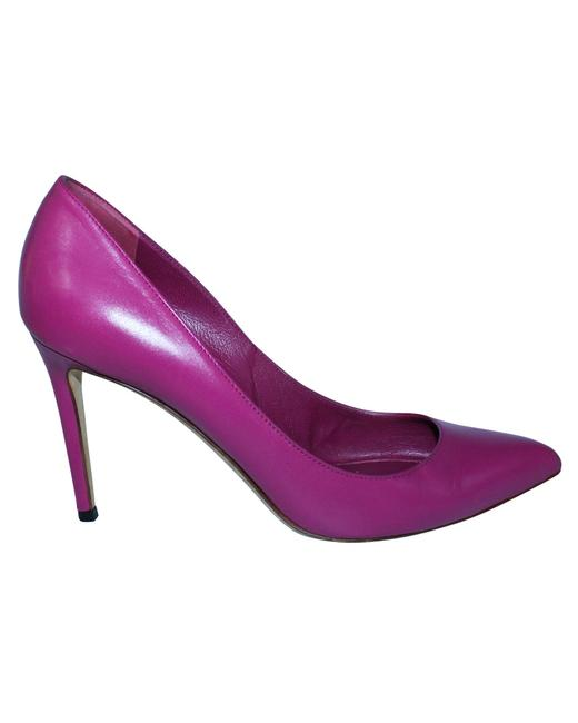 Item - Fuchsia Pointed Toe Heels -pre Owned Condition Good 38 Formal