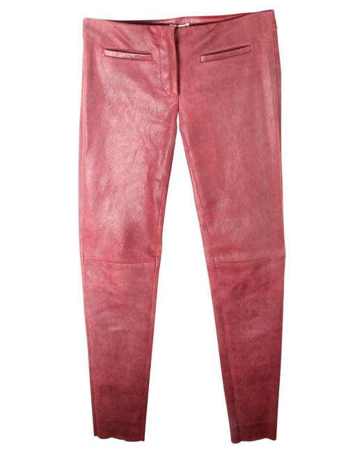 Item - Leather Low Waist -pre Owned Condition Good Fr38 Pants