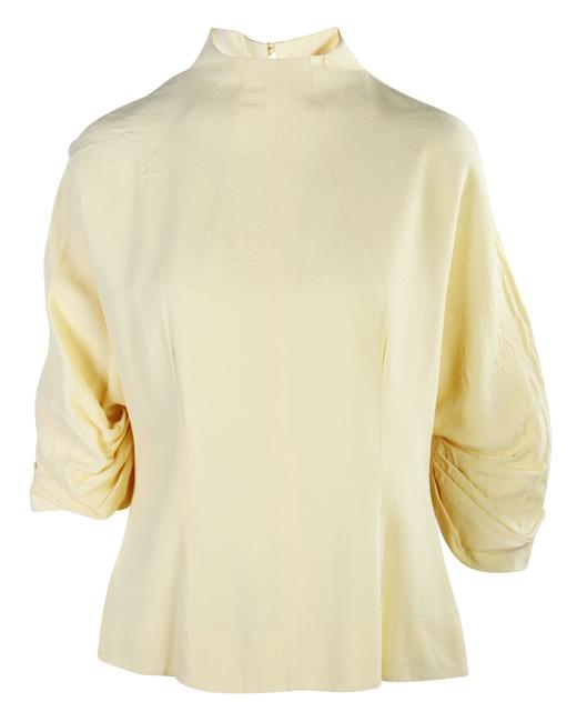Item - Cut Out Back Top -pre Owned Condition Very Good Us12 Blouse