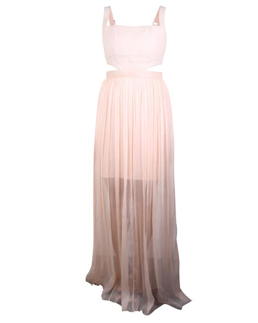 Item - Pastel Pink Structural -pre Owned Condition Good Cocktail Dress