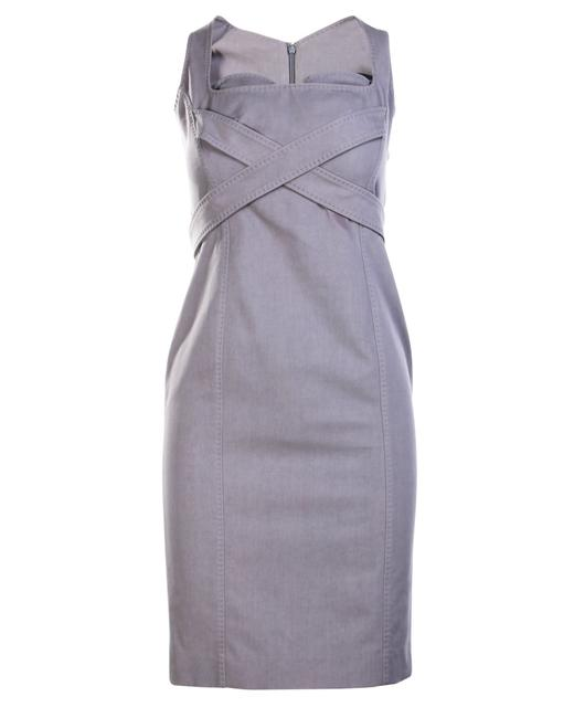 Item - Grey Midi -pre Owned Condition Very Good Fr38 Formal Dress
