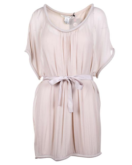 Item - Chain Embellished Silk -pre Owned Cocktail Dress