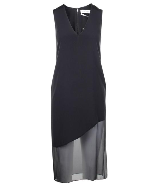Item - Low Cut Side Slit -pre Owned Condition Excellent Formal Dress