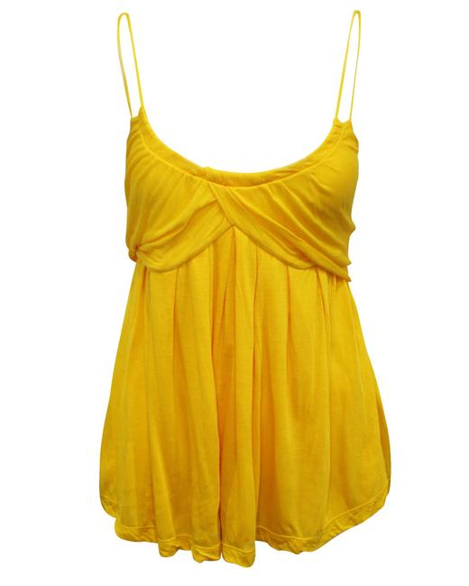 Item - Yellow Top -pre Owned Condition Very Good S Blouse