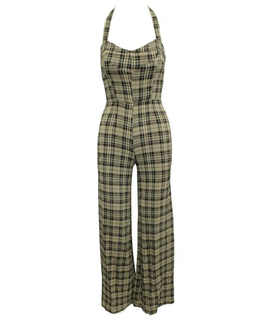 Item - Checked Maxi Oversized -pre Owned Condition Good Romper/Jumpsuit