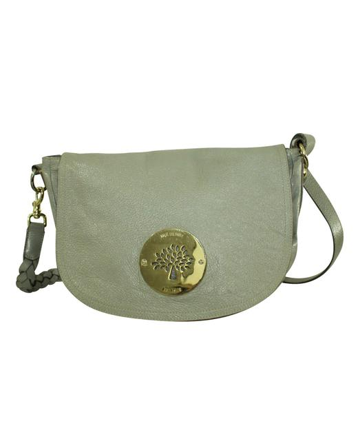 Item - Grey Leather Daria -pre Owned Condition Good One Shoulder Bag