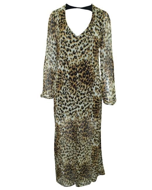 Item - XS Animal Print Maxi -pre Owned Condition Very Good Formal Dress