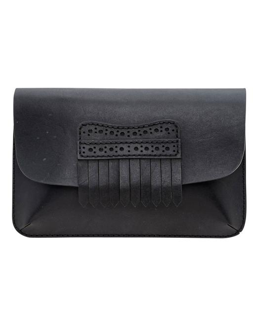 Item - Fringe Leather -pre Owned Condition Very Good One Clutch
