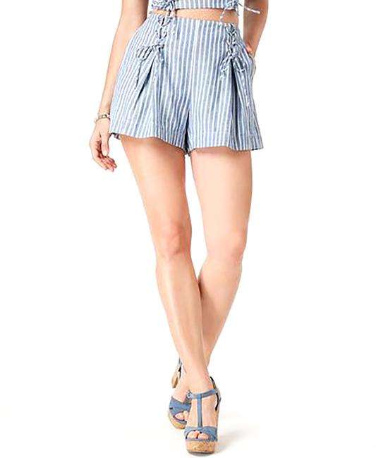 Item - Hermosa Lace-up Striped Shorts