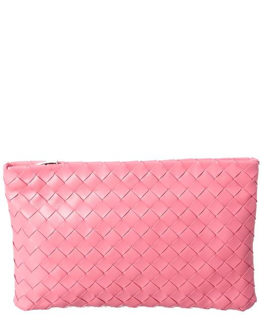 Item - Intrecciato Leather Pouch 608232 Vcpp2 5632 Wallet