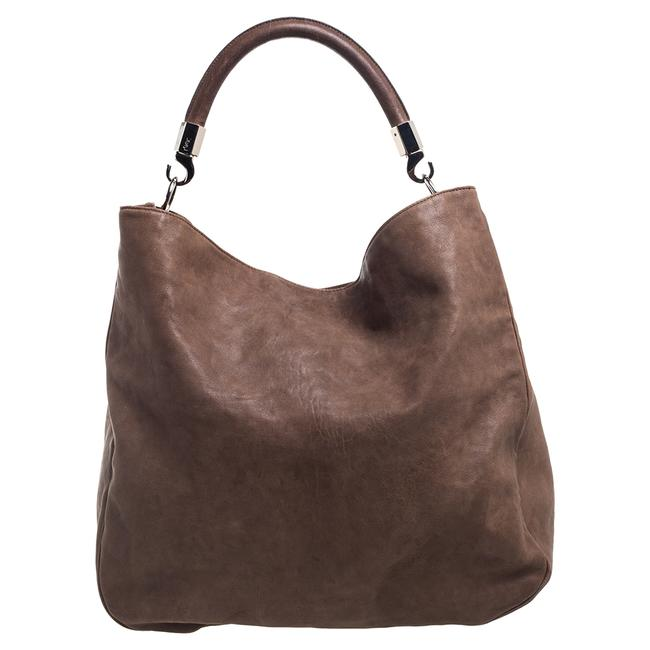 Item - Roady Yves Brown Leather Large Hobo Bag