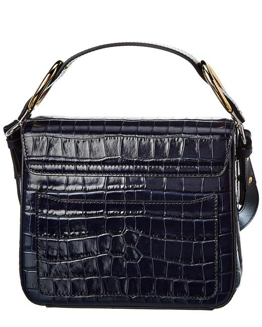 Chloé C Small Croc-embossed Leather Chc19ws199 A87 4d4 Shoulder Bag Chloé C Small Croc-embossed Leather Chc19ws199 A87 4d4 Shoulder Bag Image 2