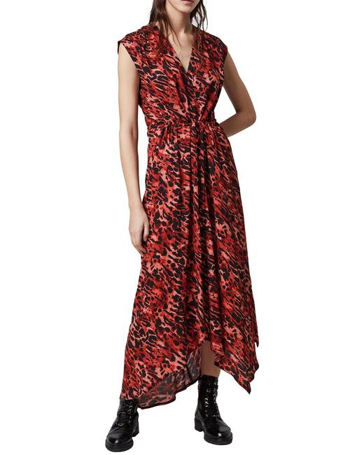 AllSaints Tate Ambient Wd331s Casual Maxi Dress AllSaints Tate Ambient Wd331s Casual Maxi Dress Image 1