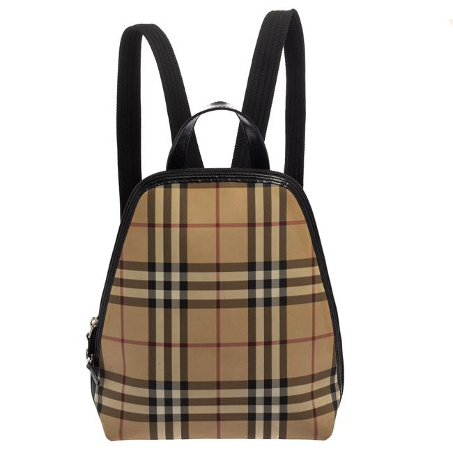 Item - Vintage Check Coated Canvas Backpack