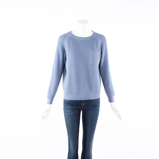 Item - Blue Gray Chunky Knit Sweater/Pullover