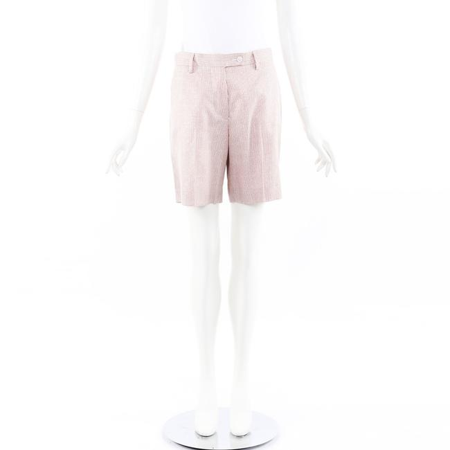 Item - Red White Striped Cashmere Silk 40 Shorts