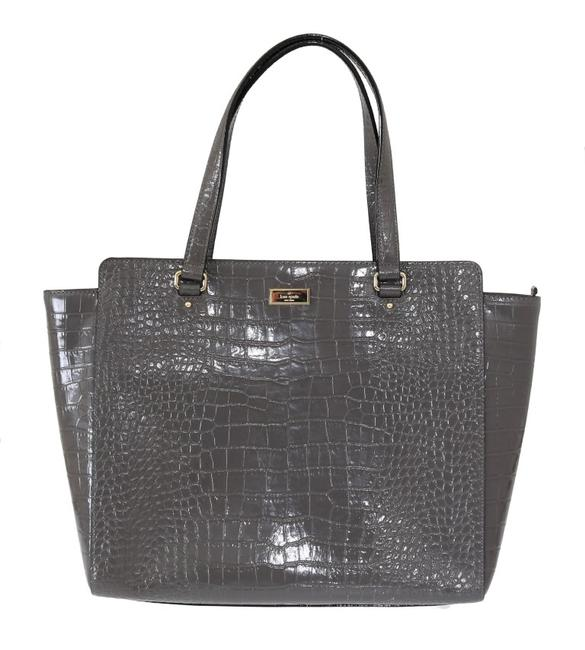 Item - Gray Bristol Drive Croc Elissa Shoulder Women's Bag Tote