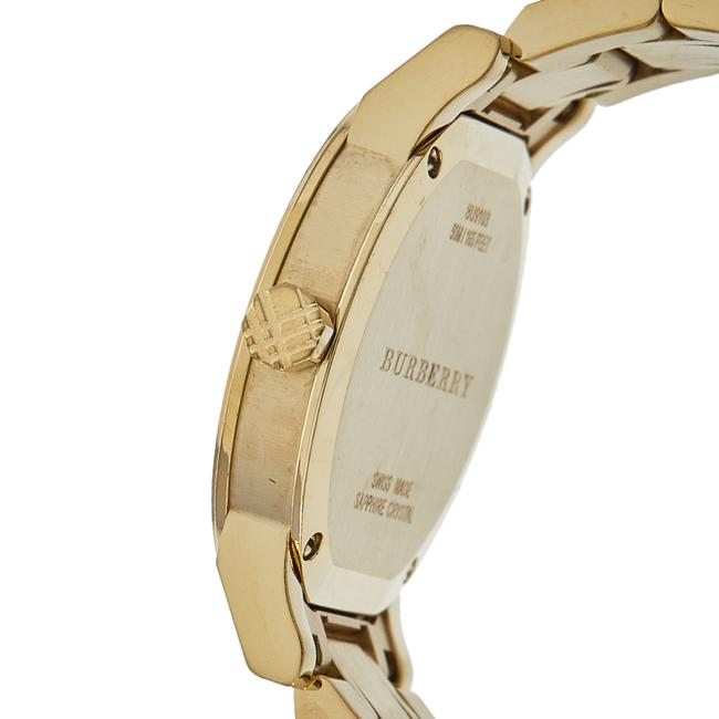 Burberry Silver Gold Tone Stainless Steel Bu9103 Women's Wristwatch 34 Mm Watch Burberry Silver Gold Tone Stainless Steel Bu9103 Women's Wristwatch 34 Mm Watch Image 6