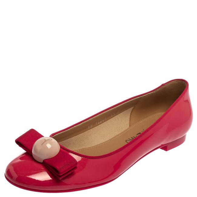Item - Pink Patent Leather Ballet Size 39 Flats