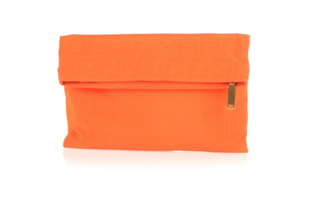 Item - Orange Zucca Chameleon Fold-over Clutch