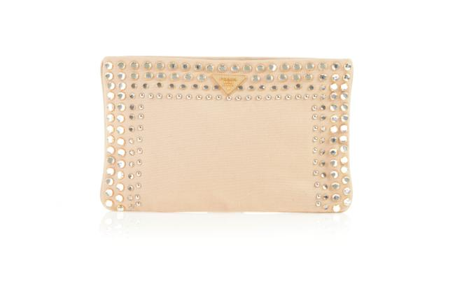 Item - Canapa Vernice Studded Bag -pre Owned Condition Clutch
