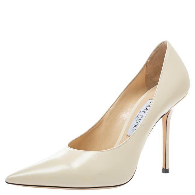 Item - Cream Leather Abel Pointed Size 40 Pumps