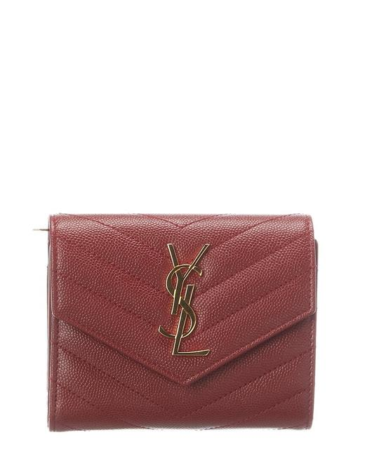 Item - Monogram Quilted Leather French Wallet 403943 Bow01 6008 Accessory