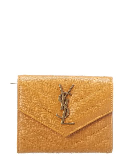 Item - Monogram Quilted Leather French Wallet 403943 Bow07 7608 Accessory