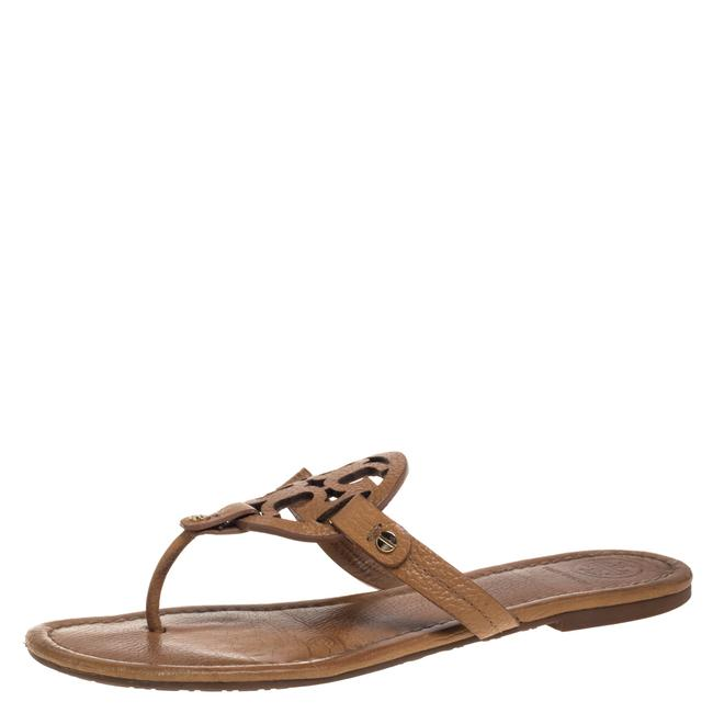 Item - Brown Leather Miller Size 40 Flats