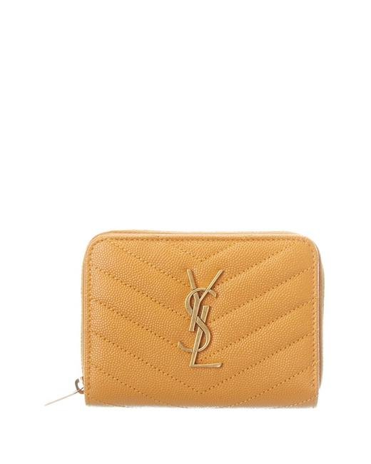 Item - Monogram Matelasse Leather Compact Zip Around 403723 Bow07 7608 Wallet