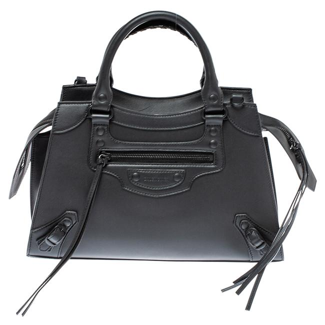 Item - Leather Small Neo Classic City Tote