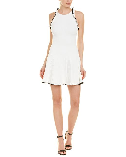 Item - L Womens Ruffled A-line White 86-81084tcr Casual Maxi Dress