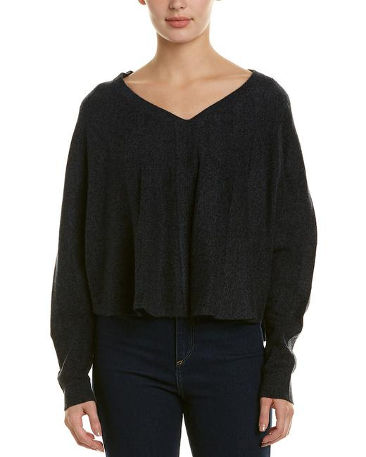 Item - XS Womens Cashmere Long Sleeve V Neck Xs/S Qw64103-698 Sweater/Pullover
