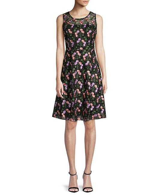 Item - Womens Embroidered Floral 400098648806 Cocktail Dress