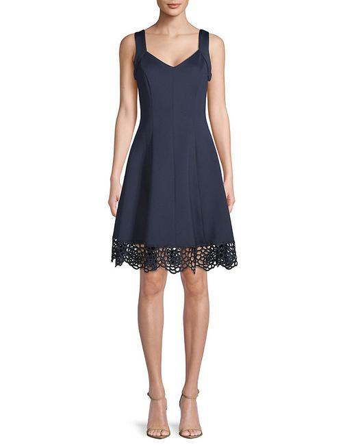 Item - Womens Lace-trimmed Sleeveless 400098311195 Formal Dress