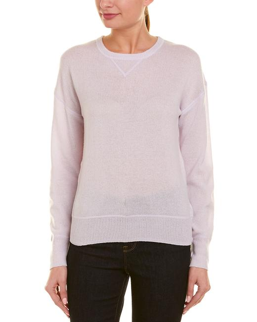 Item - Womens Cashmere White Qw73210 Sweater/Pullover