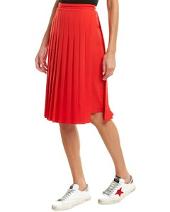Burberry Womens Cady Stretch Silk-lined Pencil Red 8016917 Skirt
