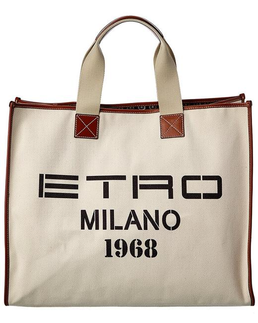 Item - Canvas & Leather 1n369 8895 0990 Tote