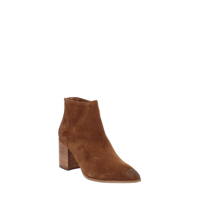 Item - Dante Leather Almond Toe Ankle Fashion Boots/Booties