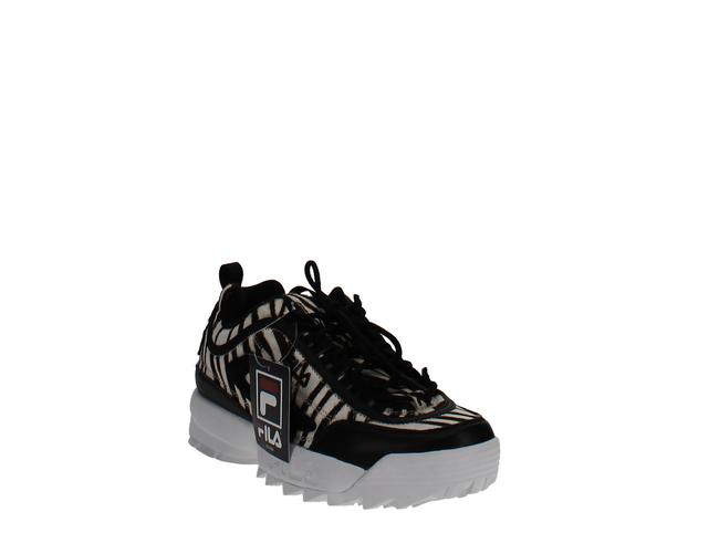 Item - Disruptor Ii Zebra Print Sneakers Athletic