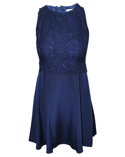 Item - Navy Blue Dress with Lace